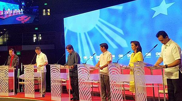 vice presidential pilipinas debate 2016