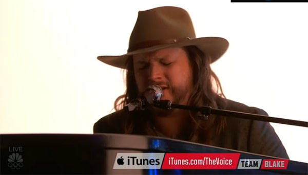Adam Wakefield The Voice Finale cover