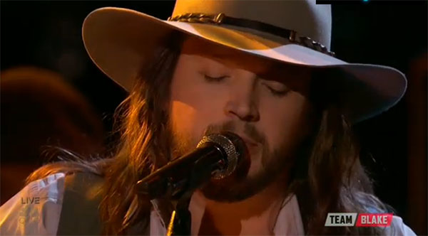 Adam Wakefield The Voice Finale