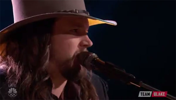 Adam Wakefield The Voice Top 10