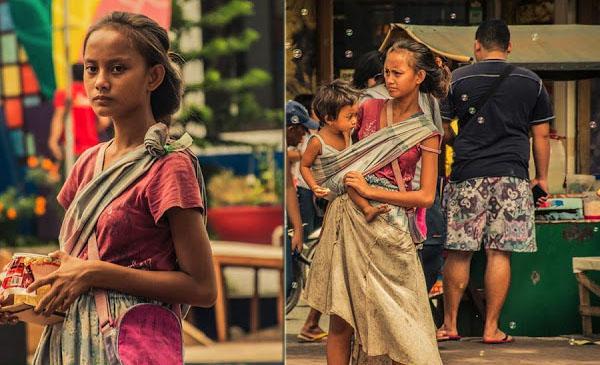 Badjao girl Rita