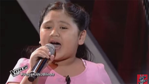 Eleana Gabunada the Voice Kids PH