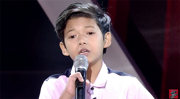 Justine The Voice Kids Philippines 2016