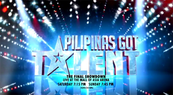Pilipinas Got Talent Grand Final Showdown