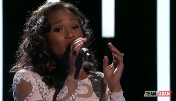 Shalyah Fearing The Voice Top 8