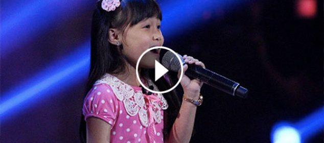 Yessha Calzada the Voice kids PH 2016