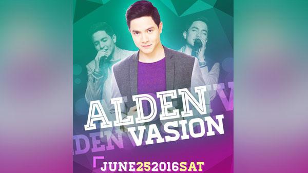 Alden Richard AldenVasion concert Pampanga postponed