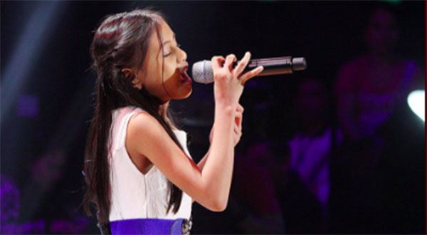 Althea Pinzon the Voice Kids Philippines