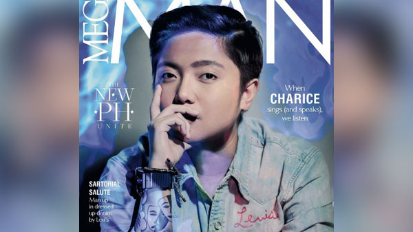 Charice Pempengco Mega Man Magazine cover