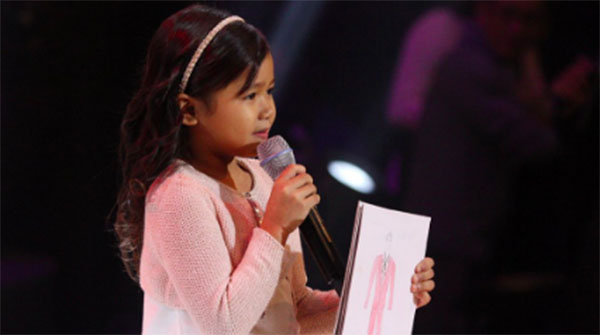 Claire Geonzon the Voice kids philippines
