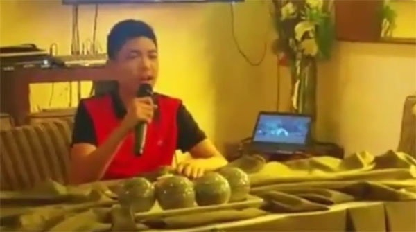Darren Espanto dismiss gay issue