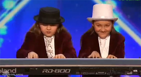 Elias and Zion AGT 2016