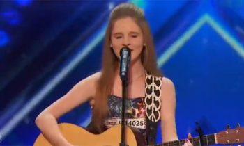 Watch: Kadie Lynn Roberson wows judges on America's Got Talent 2016