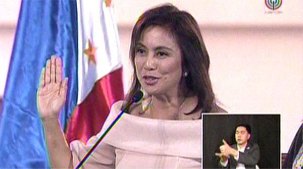 Leni Robredo Inauguration Live and Replay video