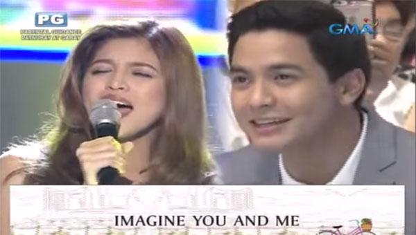 Maine Mendoza sings Imagine You and Me