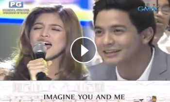 Watch: Maine Mendoza sings 'Imagine You and Me' theme song for AlDub movie