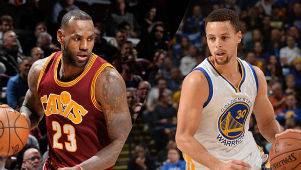 NBA Finals 2016 Warriors vs Cavaliers Game 1