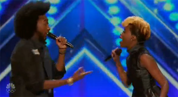 Raii and Whitney Smith AGT