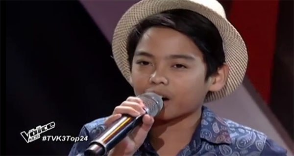 Al Vincent Casela The Voice Kids philippines
