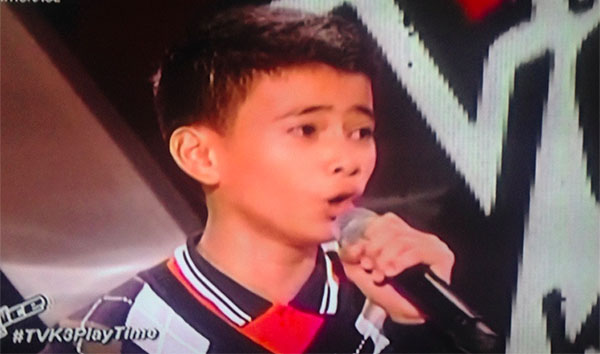 Alfred Baja The Voice Kids Philippines