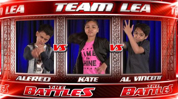 Alfred vs Kate vs Al Vincent The Voice Kids PH Battles