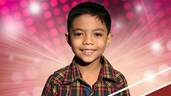 Arnie Maun The VOice Kids Philippines