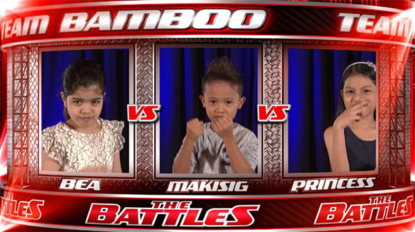 Bea vs Princess vs Makisig the voice kids philippines