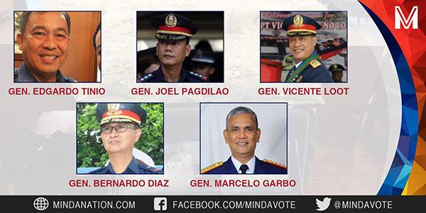 Duterte-Names-5-Police-Illegal-Drugs