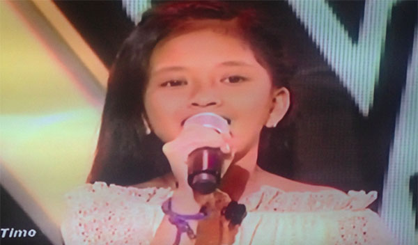 Geleina Soriano The voice kids philippines