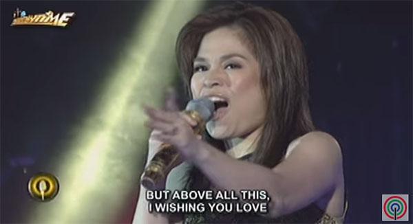 Jennie Gabriel sings I Will Always Love You