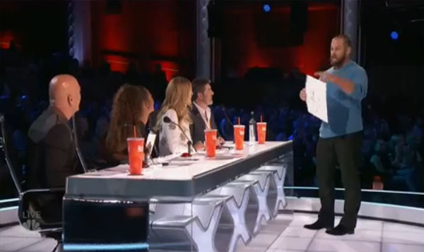 Jon Dorenbos AGT live shows