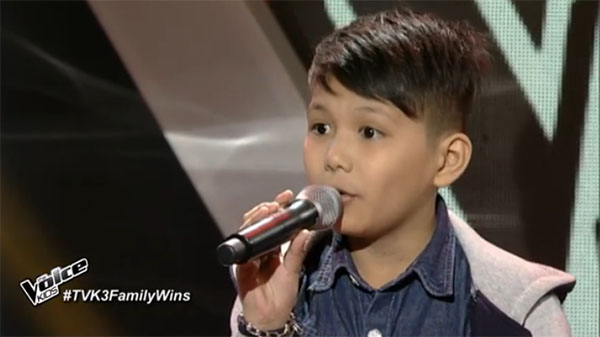 Julian Lascota The Voice Kids Philippines
