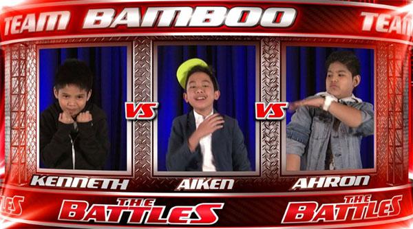 Kenneth vs Aiken vs Ahron The Voice Kids PH Battles