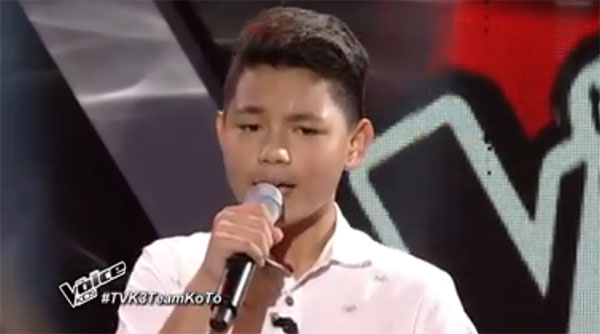 Kyle Philippe Mallari The Voice Kids Philippines