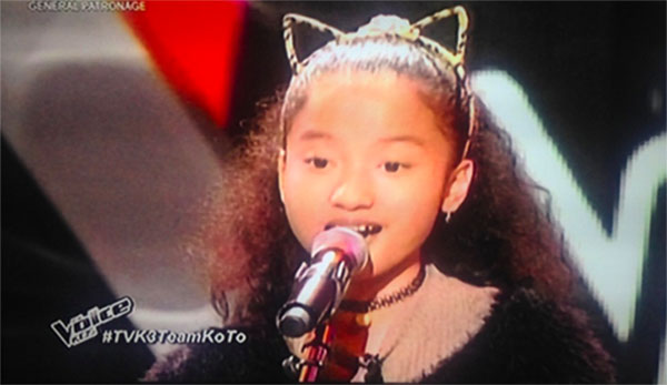 Maxine Manzano the Voice Kids Philippines