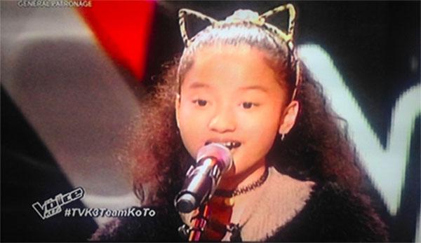 Maxine Manzano the Voice Kids Philippines