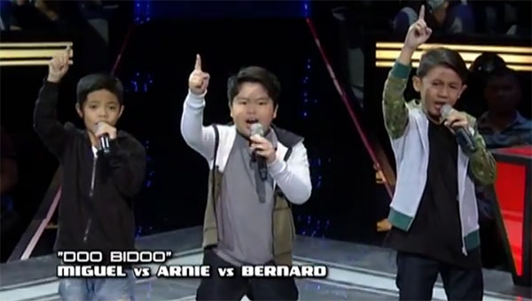 Miguel vs Arnie vs Bernard