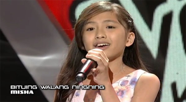 Misha De Leon The Voice Kids Philippines