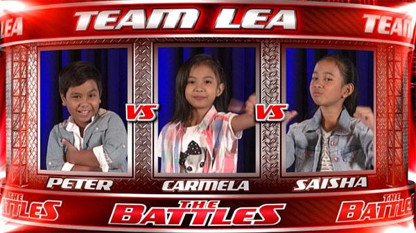 Peter vs Shaisha vs Carmela the oice kids ph