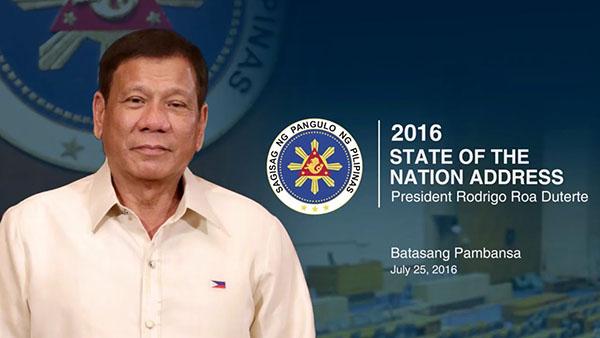 President Duterte State of the Nation Address Live Coverage SONA 2016
