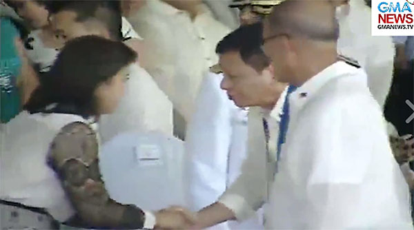 President Rodrigo Duterte meet VP Leni Robredo video