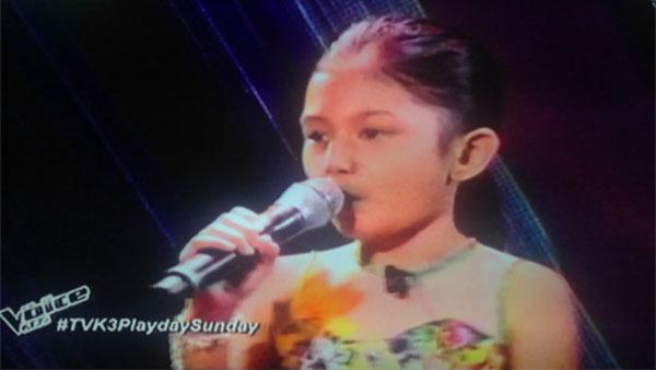 Princess Rabara The Voice Kids Philippines