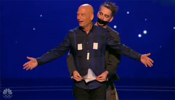 Tape Face AGT judge cuts