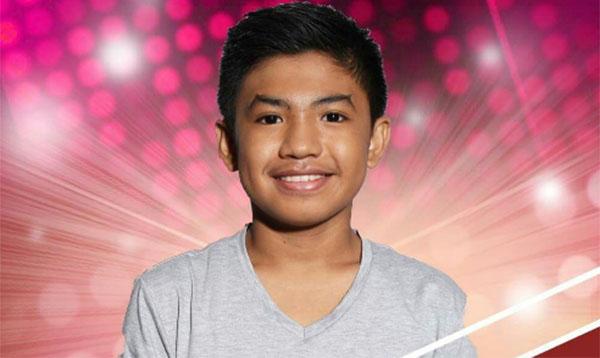 Thaddeus Salazar the Voice Kids Philippines