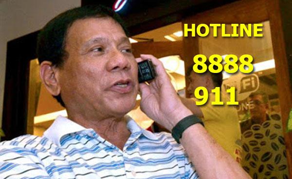 duterte-8888-911-hotline