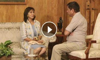 Watch: VP Leni Robredo visits President Duterte for a courtesy call