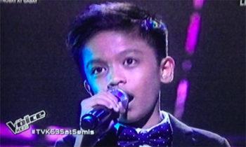 Watch: Alvin Dahan sings 'Pangarap Ko ang Ibigin Ka' on The Voice Kids Philippines Live Semifinals