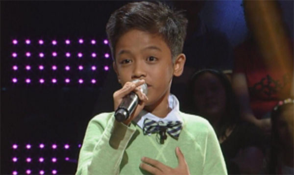 Alvin Dahan the voice kids ph sing off