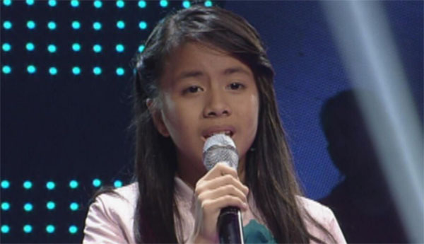 Angel Penaflor the voice kids ph sing offs