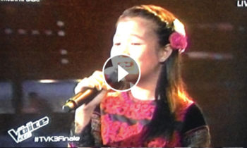 Watch: Antonetthe Tismo sings 'Pangako' on The Voice Kids Philippines Live Finals